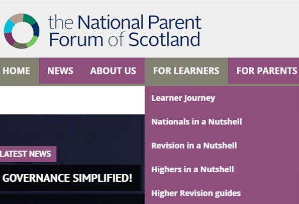 The National Parent Forum of Scotland was set up to raise educational issues or concerns at a national level.