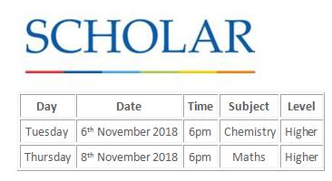 SCHOLAR H Chem and Maths